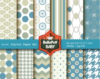 Buy 2 Get 2 Free ---- Digital Papers ---- Personal and Small Commercial Use ---- BB 0260