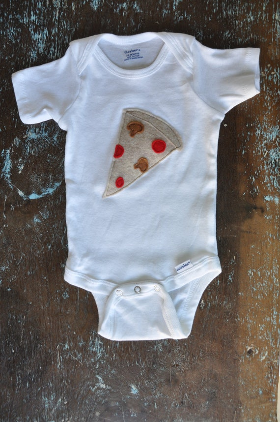 slice of pizza onesie