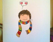 Dr Who Card - Sold listing.