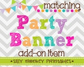Add-On: Matching Party Banner