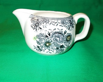 One (1), 8 oz. Porcelain Creamer from Porsgrund, in the PRG 10 Pattern