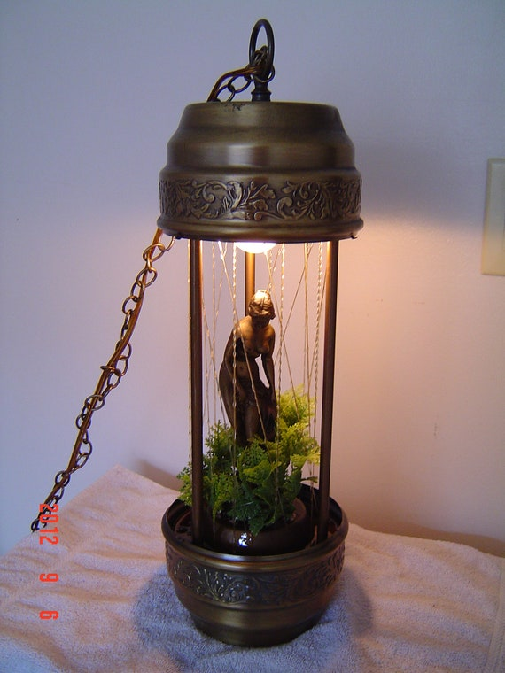 Hold For Annaliese Swag Oil Rain Goddess Lamp By Pennybunny
