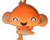 Monkey GO Happy Child Soft Toy