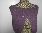 purple annivarsary shawl