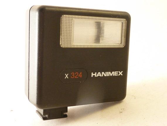 WORKING Vtg Hanimex x324 Mini Flash, Film Camera, Lomography, Photography