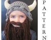 SALE!!  PATTERN--Kids Viking Hat