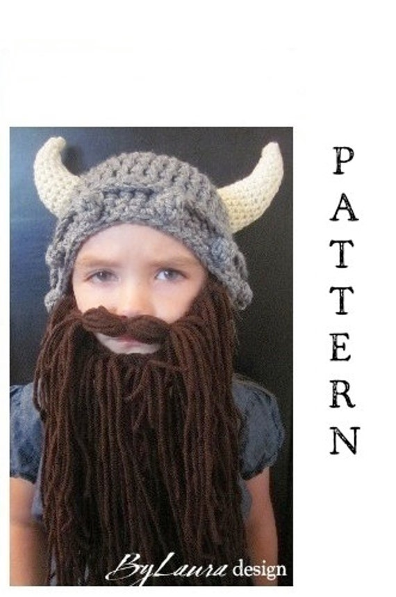 Items similar to SALE!! PATTERN--Kids Viking Hat on Etsy