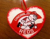 Cincinnati Reds Christmas Ornament--FREE personalization