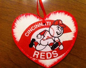 Cincinnati Reds Christmas Ornament--FREE personalization