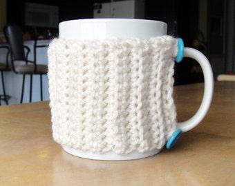 White Coffee Cozy