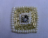 Square Beaded Applique