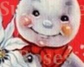 Vintage Snowman Banner and Avatar