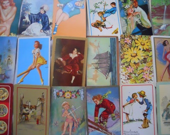 GRAB BAG 50 Vintage Playing Cards for Collection or Altered Art Supply
