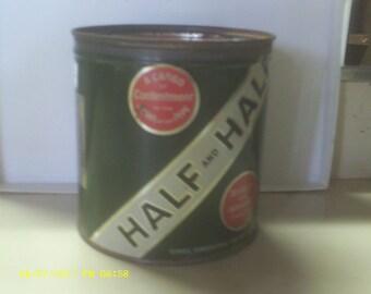 TIN HALF and HALF tobacco