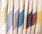 Turkish Bath Towel(Peshtemal) Diagonal Design-Type1 : Old gold