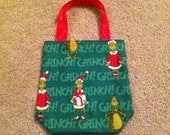 The Grinch Christmas Bag