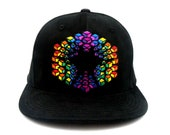 M/L Saxton Waller ROYGBIV Earth Grid Allignment Hat