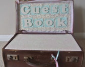 Wedding Guest Book Suitcase