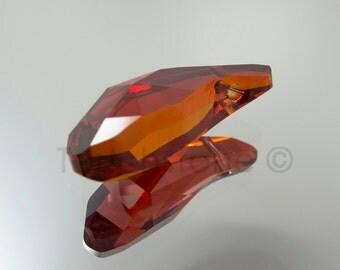 Swarovski Aquiline Pendant Crystal Red Magma Bead 28mm 5531 #-