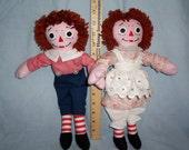 13 Inch Rag Dolls