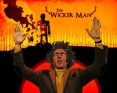The Wicker Man A3 Poster Print