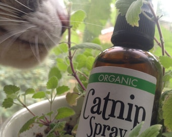 Organic Catnip Spray 2oz