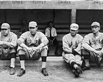 Babe Ruth Baseball Photo