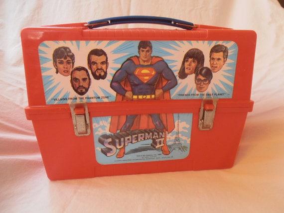 Superman 2 Plastic Lunch Box