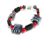 Zebra Striped Bracelet