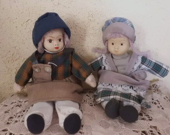 1920-1930 Old Dolls