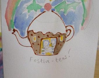 Happy Christmas Festivi-Teas