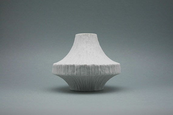 Space Age bisque vase by H&C Heinrich (Bavaria)