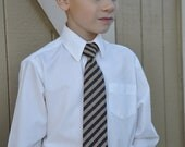 Striped Neck Ties for Little Boys