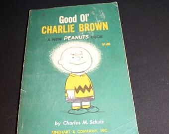 Vintage Good Ol' CHARLIE BROWN By Charles M. Schulz