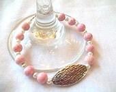 Light Pink and White Pearl Beaded Bracelet