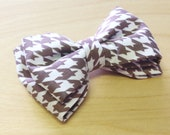 Houndstooth Pet Bow Tie