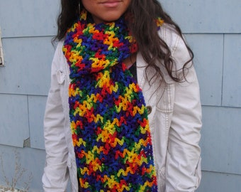 Marvelous multicolored scarf