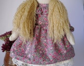Emily fabric doll