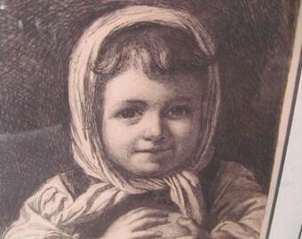 Swedish art  etching