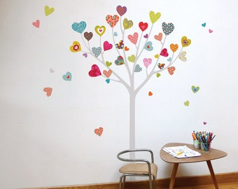 Heart Tree - kid wall sticker