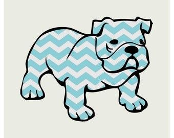 Bulldog Nursery Print 5x7