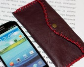 Sale. Samsung Galaxy S3 cell phone sleeve. Hand stitched.