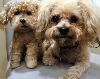 Custom needle felted sculpture of  of your dog/cat/pet