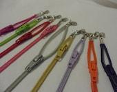 Zipper Bracelets and Anklets
