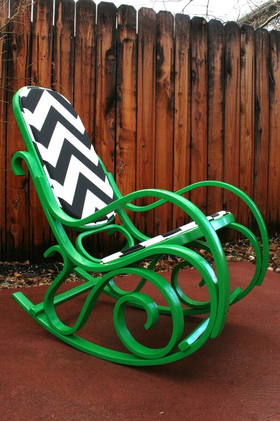 Thonet Bentwood Style Rocking Chair By Mzad On Etsy