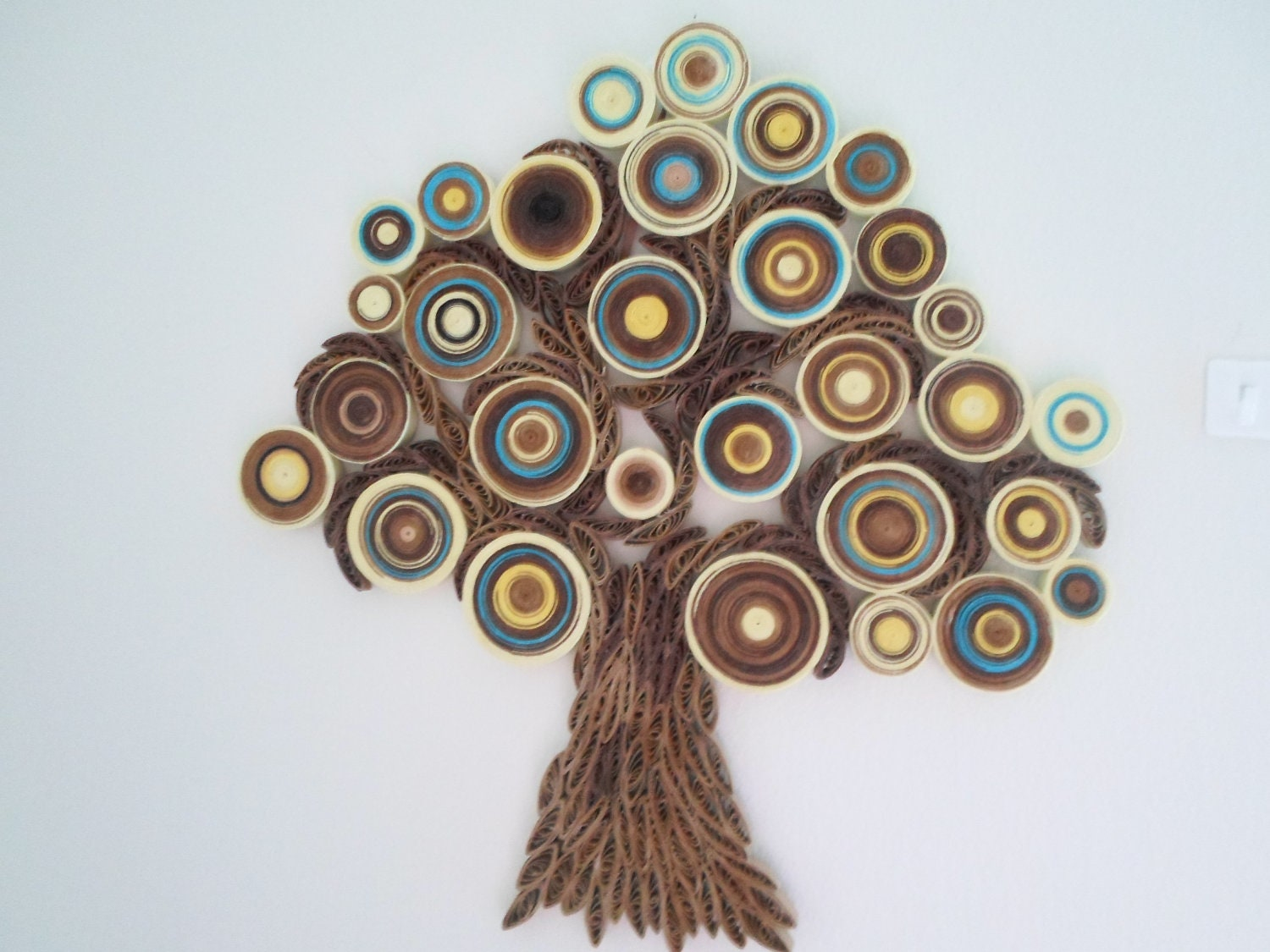 Good Paper Quilling Wall Art Wall Decoration Modern Wall Hanging Abstract Paper  Wall Art