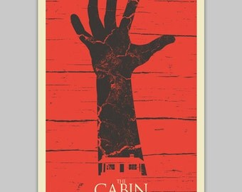 The Cabin In The Woods poster