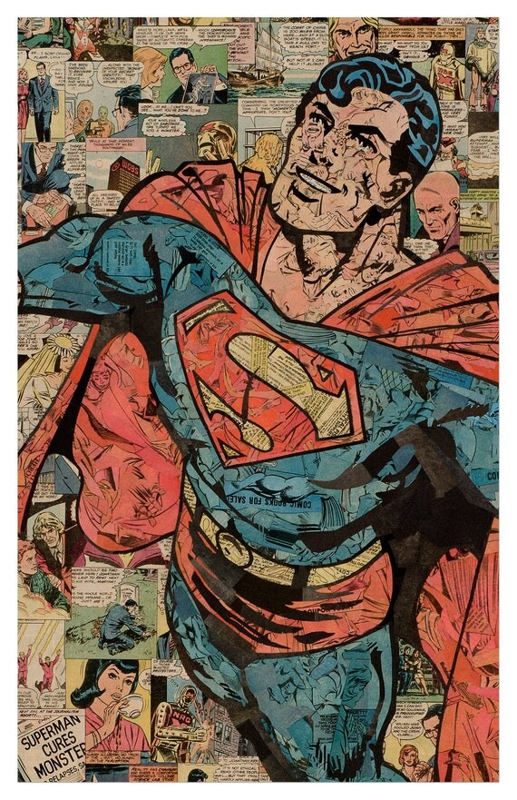 Superman Print 11x17