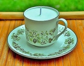 Nag Champa Scented Soy Tea Cup Candle