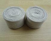 Cotton Jersey Knit Bias Tape Melange Color Greys 4 cm Wide (1.6 inch) 1 roll -  HF33